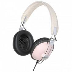 Casti Panasonic RP-HTX7AE-P pink, Casti On Ear, Cu fir, Mufa 3, 5mm, Active Noise Cancelling