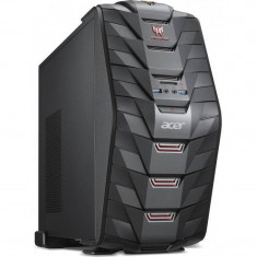 Sistem desktop Acer Aspire Predator G3-710 Intel Core i5-7400 16GB DDR4 1TB HDD 256GB SSD nVidia GeForce GTX 1050 Ti 4GB Black