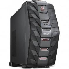 Sistem desktop Acer Aspire Predator G3-710 Intel Core i5-7400 16GB DDR4 1TB HDD 256GB SSD nVidia GeForce GTX 1050 Ti 4GB Black - Sisteme desktop fara monitor Acer, Fara sistem operare