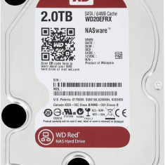 Hard Disk Western Digital WD Red 2Tb SATA 3 IntelliPower 64Mb cache, Rotatii: 5400
