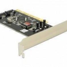 Controler PCI Delock SATA 4 port with Raid - Placa de retea