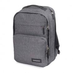 Rucsac laptop Eastpak EK13A72H Pokker Linked Melange 15 inch - Geanta laptop EASTPAK, Nailon, Gri