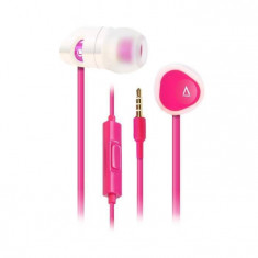 Casti Creative MA 200 Pink, Casti In Ear, Cu fir, Mufa 3, 5mm