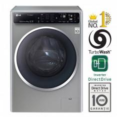Masina de spalat rufe LG F14U1JBS6 Titan 2.0 A+++ 1400 rpm 10kg argintie, A+++