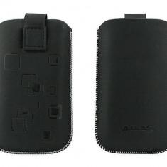 Toc OEM TSAPPIPH4NEG Slim negru pentru iPhone 4 / Samsung Ace / Nokia E5 - Husa Telefon Oem, Vinyl