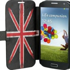 Husa Flip Cover TnB SGAL42UK Folio Case UK pentru Samsung Galaxy S4