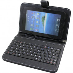 Husa tableta Utok protectie cu tastatura 7- 8 inch 7210N Black - Husa tableta cu tastatura