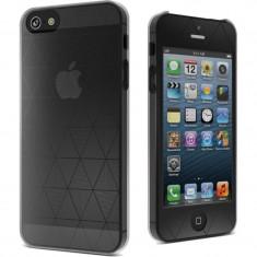 Husa Protectie Spate Cygnett CY0856CPPOL Polygon pentru iPhone 5 Transparent - Husa Telefon CYGNETT, Gel TPU, Carcasa
