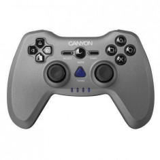 Gamepad Canyon PC PS2 PS3 Black, Controller