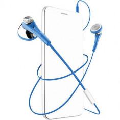 Casti Cu Fir Cellularline In Ear Albastru Sony, Casti In Ear, Mufa 3, 5mm