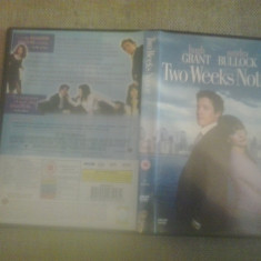 Two Weeks Notice (2002) - DVD [C] - Film romantice, Engleza
