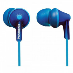 Casti Panasonic in-ear RP-HJE125E-A Albastru, Casti In Ear, Cu fir, Mufa 3, 5mm