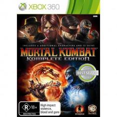 Joc consola Warner Bros Mortal Kombat Komplete Edition XBOX360 - Jocuri Xbox 360, Actiune, 18+