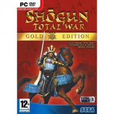 Joc PC Sega Shogun Total War Gold Edition, Strategie, 12+, Multiplayer