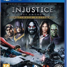 Joc consola Warner Bros Injustice Gods Among Us Ultimate Edition PS4 - Jocuri PS4, Actiune, 16+