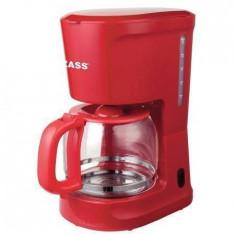 Cafetiera Zass ZCM 10 RL 1000W 1.5l rosie