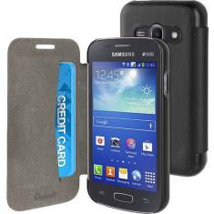 Husa Flip Cover Muvit 103104 neagra pentru Samsung Galaxy Ace 4 - Husa Telefon
