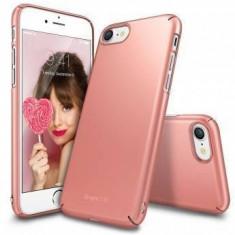 Husa Protectie Spate Ringke Slim Rose Gold pentru Apple iPhone 7 - Husa Telefon Ringke, iPhone 7/8, Plastic, Carcasa