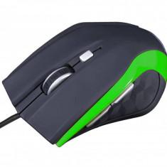 Mouse gaming Modecom MC-M5 Black / Green, USB, Optica, Peste 2000