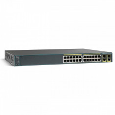Switch Cisco WS-C2960+24PC-L 24 porturi