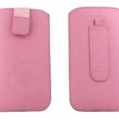 Toc OEM TSSAMGS2ROZ Slim roz pentru Samsung Galaxy S2 / S / S Plus - Husa Telefon