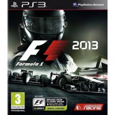 Joc consola Codemasters F1 2013 PS3 - Jocuri PS3 Codemasters, Curse auto-moto, 3+