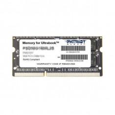 Memorie laptop Patriot 8GB DDR3 1600MHz CL11 pentru ultrabook - Memorie RAM laptop