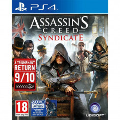 Joc consola Ubisoft Assassins Creed Syndicate PS4 - Jocuri PS4 Ubisoft, Actiune, 18+