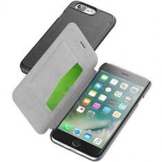 Husa Flip Cover Cellularline BOOKESSIPH755K Agenda Essential Negru pentru Apple iPhone 7 Plus - Husa Telefon