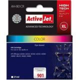 Consumabil ActiveJet Cartus compatibil HP 901XL Color