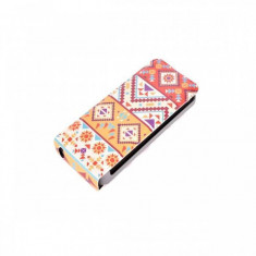 Husa Flip Cover Tellur TLL111152 Mosaic pentru Apple iPhone 6 - Husa Telefon Tellur, iPhone 6/6S