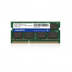 Memorie laptop ADATA Premier 4GB DDR3 1600 MHz CL11 Low Voltage - Memorie RAM laptop