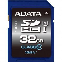 Card ADATA SDHC Premier 32GB UHS-I U1 ASDH32GUICL10-R - Card memorie foto