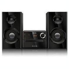 Microsistem audio Philips MCD2160/12 cu DVD negru