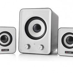 Sistem audio 2.1 Logic LS-20 White - Boxe PC