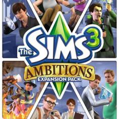 Joc PC EA The Sims 3 Ambitions - Jocuri PC Electronic Arts, Simulatoare, 12+, Single player