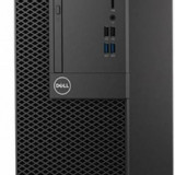 Sistem desktop Dell Optiplex 3050 MT Intel Core i3 4GB DDR4 500GB HDD Intel HD Graphics Windows 10 Pro Black