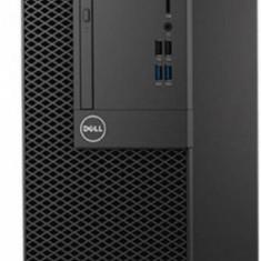 Sistem desktop Dell Optiplex 3050 MT Intel Core i3 4GB DDR4 500GB HDD Intel HD Graphics Windows 10 Pro Black - Sisteme desktop fara monitor