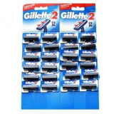 Aparat de ras Gillette 2 card 24 buc