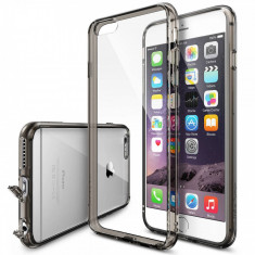 Husa Protectie Spate Ringke FUSION Smoke Black plus folie protectie pentru Apple iPhone 6 Plus/6S Plus - Husa Telefon
