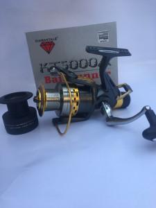 SET CRAP Lanseta 3,9m din 3 bucati + Mulineta DIAMANT KT5000+ROLA 300M FIR