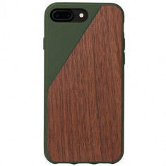 Husa Protectie Spate Native Union CLIC-OLI-WD-7P Walnut Wood Maro pentru Apple iPhone 7 Plus - Husa Telefon