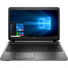 Laptop HP ProBook 450 G3 15.6 inch HD Intel Core i3-6100U 4GB DDR4 500GB HDD FPR Windows 10 Pro downgrade la Windows 10 Pro Silver