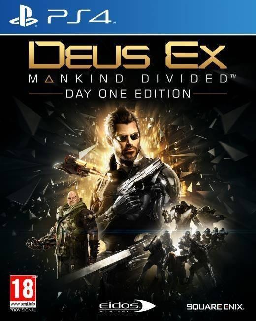 Joc consola Square Enix Ltd DEUS EX MANKIND DIVIDED DAY ONE EDITION pentru PS4 foto mare