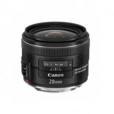 Obiectiv Canon EF 28mm f/2.8 IS USM - Obiectiv DSLR Canon, Wide (grandangular), Autofocus, Canon - EF/EF-S