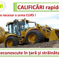 Atestat Rapid buldoexcavatorist, mecanic utilaje, excavatorist