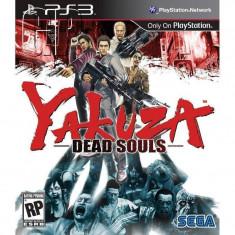 Joc consola Sega Yakuza Dead Souls PS3 - Jocuri PS3 Sega, Actiune, 18+