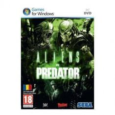 Joc PC Sega Aliens Vs Predator - Jocuri PC Sega, Shooting, Single player