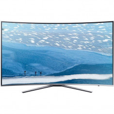 Televizor Samsung LED Smart TV Curbat UE55 KU6172 Ultra HD 4K 139cm Silver
