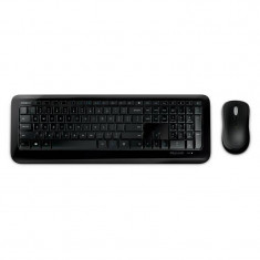 Kit tastatura si mouse Microsoft Wireless Desktop 850 Black, Fara fir